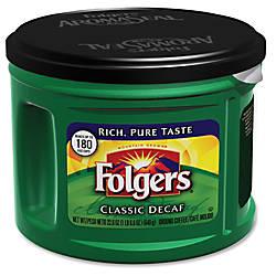 Folgers Classic Decaf Coffee Decaffeinated 226