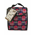 Yak Pak Lunch Tote Purple Owl