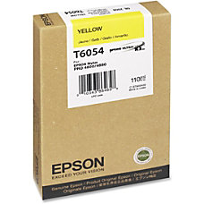 Epson Yellow Ink Cartridge Inkjet 1