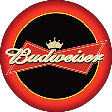Budweiser Pub Table Round 28 Diameter