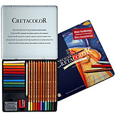 Cretacolor Pastel Pencils Basic Set