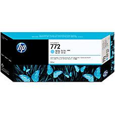 HP 772 Ink Cartridge Light Cyan
