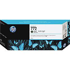 HP 772 Ink Cartridge Matte Black