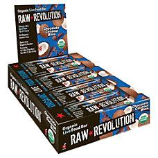 Raw Revolution Bars Chocolate Coconut Bliss