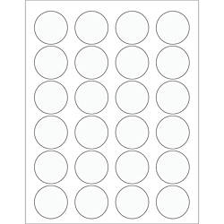 Office Depot Brand Circle Laser Labels