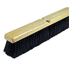 Wilen Black Tampico Push Broom 24