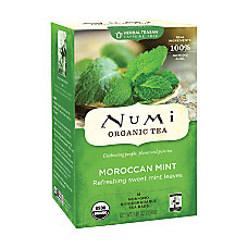 Numi Simply Mint Morroccan Herbal Tea
