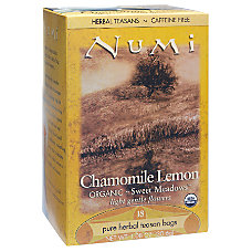 Numi Organic Chamomile Lemon Herbal Tea