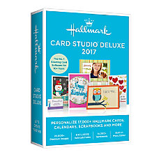 Hallmark Deluxe Card Studio 2017 Traditional