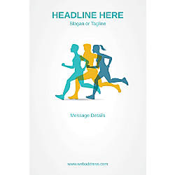Custom Vertical Poster Marathon