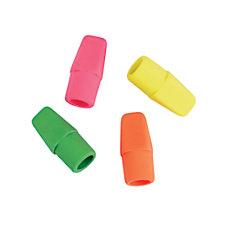 Office Depot Brand Neon Eraser Caps