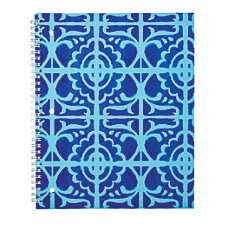 Divoga Spiral Notebook Mediterranean Mosaic Collection