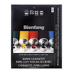 Bienfang Canvasette Paper Canvas 12 x