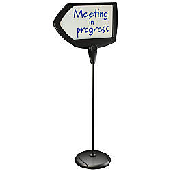 MasterVision Arrow Dry Erase Floor Sign