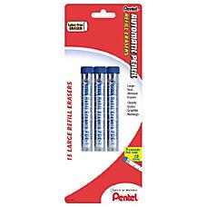 Pentel Quicker Clicker Eraser Refills Pack