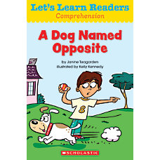 Scholastic Lets Learn Readers A Dog