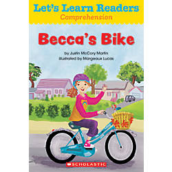 Scholastic Lets Learn Readers Beccas Bike