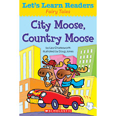 Scholastic Lets Learn Readers City Moose