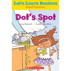 Scholastic Lets Learn Readers Dots Spot