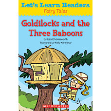 Scholastic Lets Learn Readers Goldilocks And
