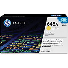 HP 648A Yellow Original Toner Cartridge
