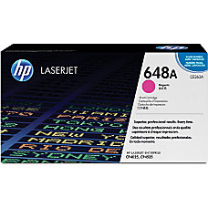 HP 648A Magenta Original Toner Cartridge
