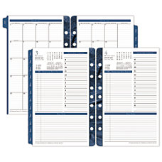 FranklinCovey Monticello Planner Refill 5 12