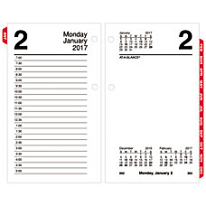 AT A GLANCE Desk Calendar Refill