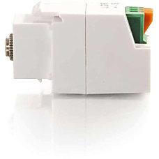 C2G 35mm 3 Conductor Keystone Adapter