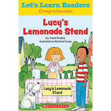 Scholastic Lets Learn Readers Lucys Lemonade