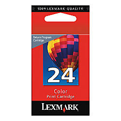 Lexmark 24 Color Ink Cartridge