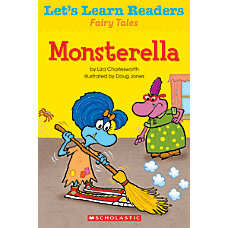 Scholastic Lets Learn Readers Monsterella