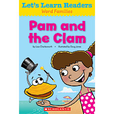Scholastic Lets Learn Readers Pam And
