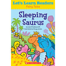 Scholastic Lets Learn Readers Sleeping Saurus