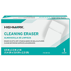 Highmark Cleaning Eraser White