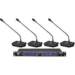 PylePro Professional PDWM4700 Wireless Microphone System