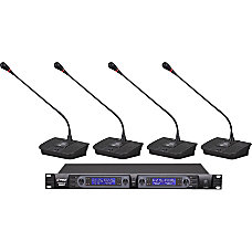 PylePro Professional PDWM4700 Wireless Microphone System