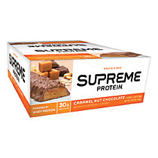Supreme Protein Caramel Nut Chocolate Bar