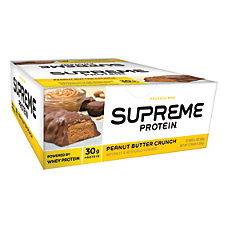 Supreme Protein Peanut Butter Crunch Bar