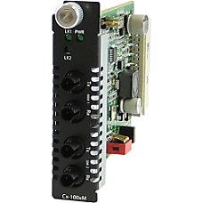 Perle C 100MM S2ST20 Media Converter
