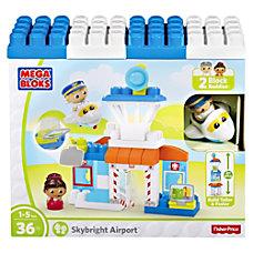 Mega Bloks Skybright Airport Play Set