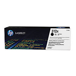 HP 312X High Yield Black Toner