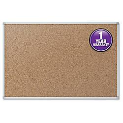 Quartet Economy Corkboard 36 x 48