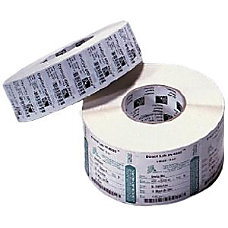 Zebra Label Polypropylene 2 x 1in