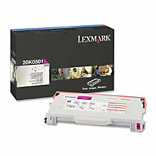 Lexmark 20K0501 Magenta Toner Cartridge