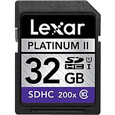 Lexar Platinum II 32GB Secure Digital