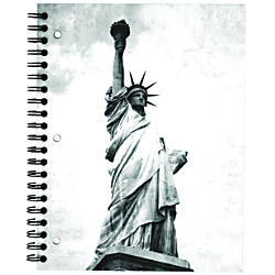 Norcom College Ruled Wirebound Travel Notebook