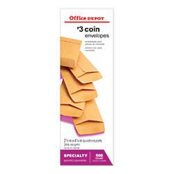 Office Depot Brand Coin Envelopes 3
