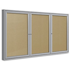 Ghent 3 Door Outdoor Enclosed Vinyl