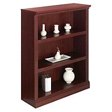 Realspace Premium Bookcase 3 Shelf Classic